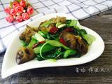 木耳炒青菜的做法[图]