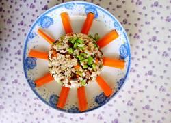 太阳花牛肉炒饭