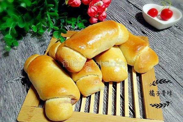 蓝莓面包卷