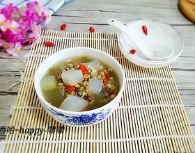 冬瓜緑豆汤[图]
