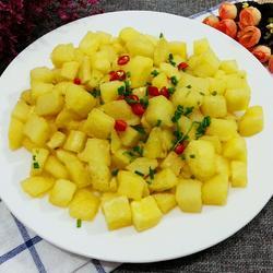 香炸土豆块