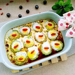 苦瓜烤鹌鹑蛋