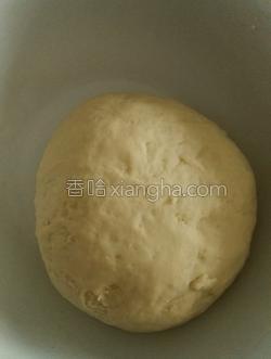 葡萄干小面包的做法图解1