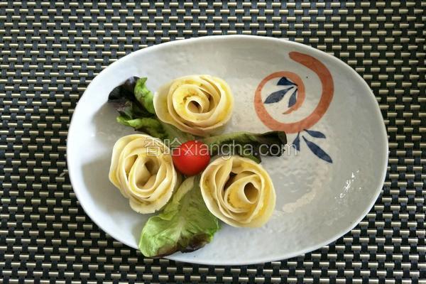 益糖玫瑰蒸饺(红薯泥馅)(糖尿病糖友食谱)(减肥瘦身适用)