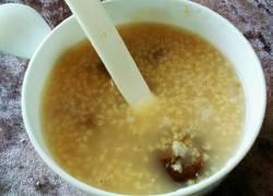 小米山楂粥