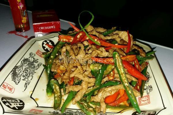 小米辣炒肉