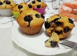 蓝莓蜂蜜马芬