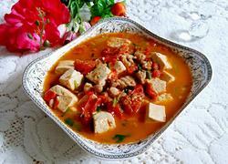 豆腐炖番茄