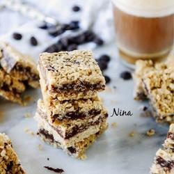 燕麦花生巧克力能量饼干