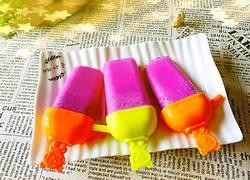 火龙果酸奶冰棒