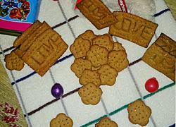 芝麻粗粮饼干