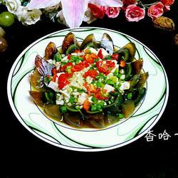 蒜香凉拌皮蛋豆腐