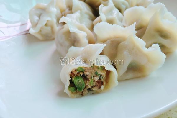 长豆角香茹猪肉饺子
