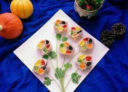五福花式蒸饺