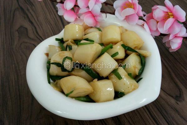 韭菜炒粉肠条