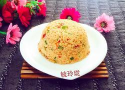 胡萝卜双椒炒鱼籽