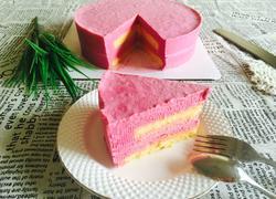 ♥️火龙果慕斯蛋糕