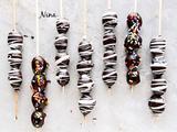 巧克力脆皮葡萄串的做法[图]
