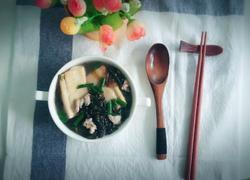 豆腐肉沫紫菜汤