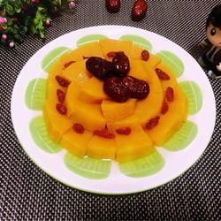 红枣枸杞蒸南瓜的做法[图]