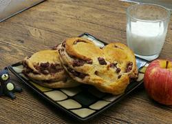 益糖全麦红豆酸奶面包(糖尿病糖友食谱)(减肥瘦身适用)
