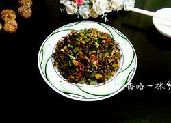 双椒腌菜炒肉丁