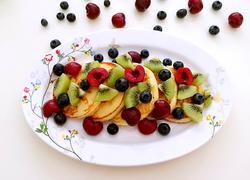 蜂蜜水果松饼