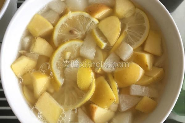 柠檬水果羹