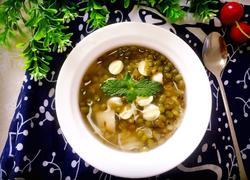 百合莲子绿豆汤