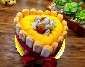 手指饼干蛋糕