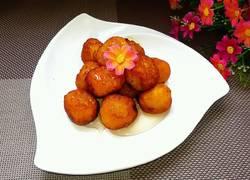 蜂蜜红薯丸子