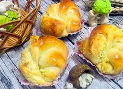 椰蓉花色小餐包