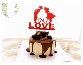 关于巧克力淋面蛋糕