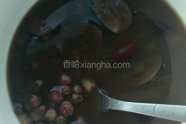 红豆绿豆红枣粥