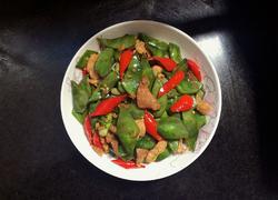 扁豆炒肉片