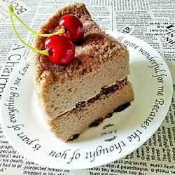 甜心可可海绵蛋糕