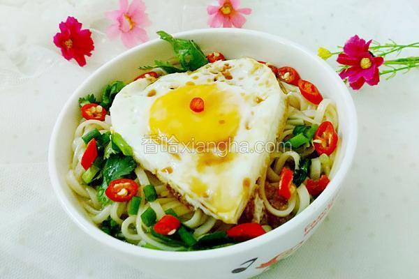 爱心早餐之鸡蛋面