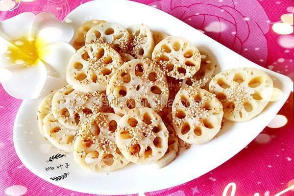 麻香糖醋藕片