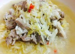 酸菜白肉(清真版)