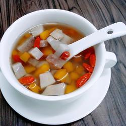 南瓜芋头甜汤