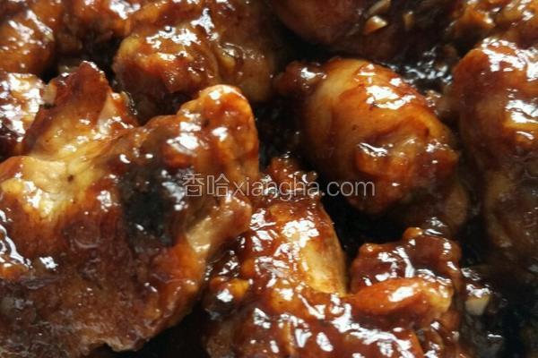 蒜香蜂蜜红酒鸡块