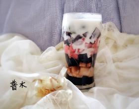 龟苓膏水果杯[图]
