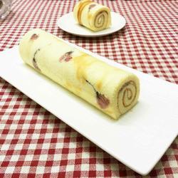 樱花蛋糕卷