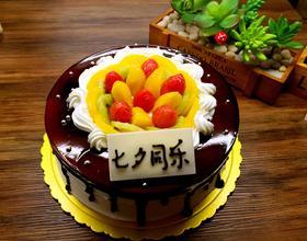 黑夜天使蛋糕