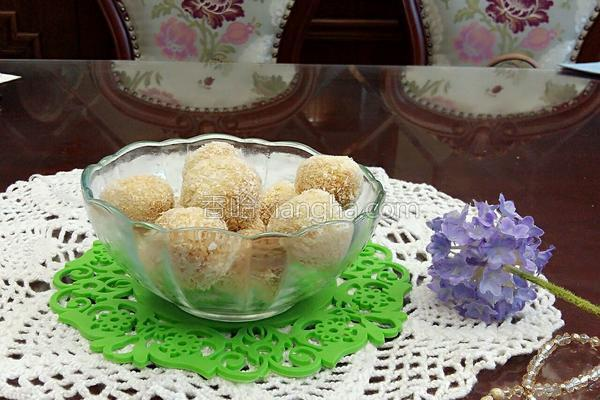 奶香椰丝球的做法