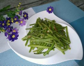 清炒番薯叶茎