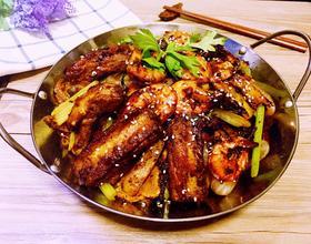 香辣干锅排骨虾