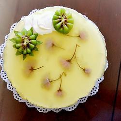 凤梨樱花慕斯蛋糕