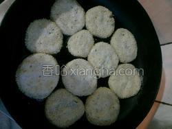 芝麻糯米饼的做法图解2