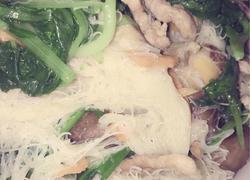花蛤炒米粉
